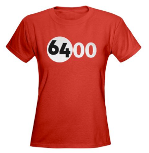 6400 t-shirt