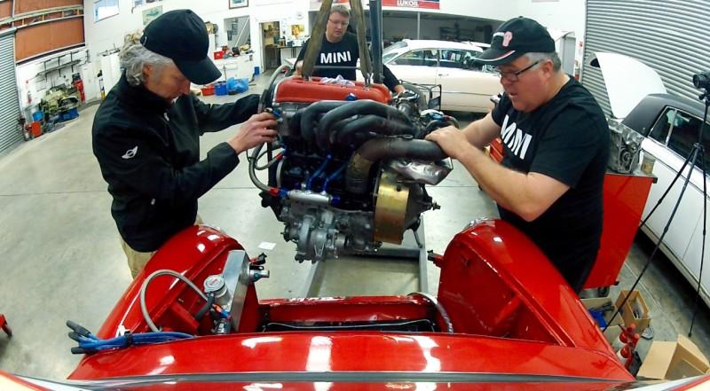 P64 Mini engine install  - 1