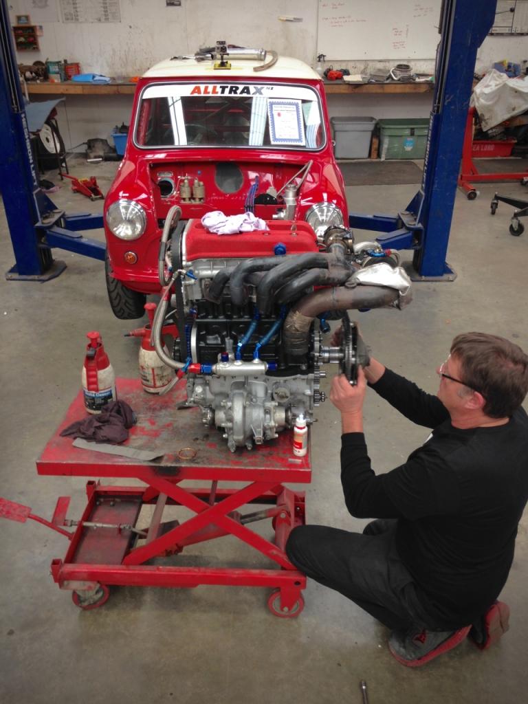 P64 Mini engine install  - 10