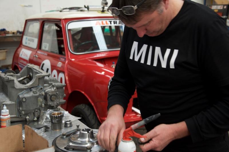 P64 Mini engine install  - 11