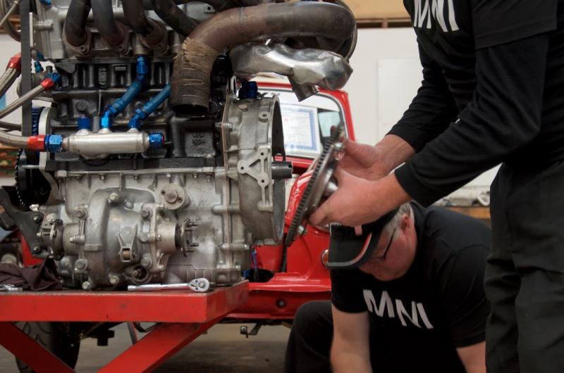 P64 Mini engine install  - 13