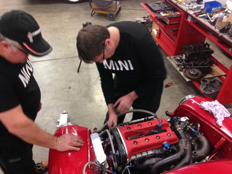 P64 Mini engine install  - 14