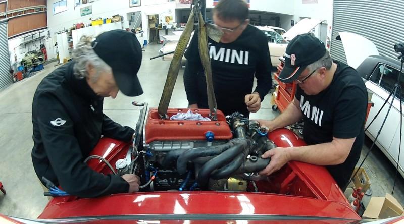 P64 Mini engine install  - 4