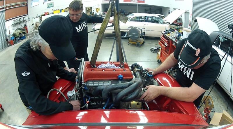 P64 Mini engine install  - 5